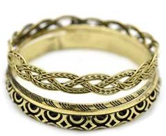 5th Avenue Brass Bracelet P9491A-3