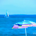 Summer Blue - Topaz Impression   Watercolor IV