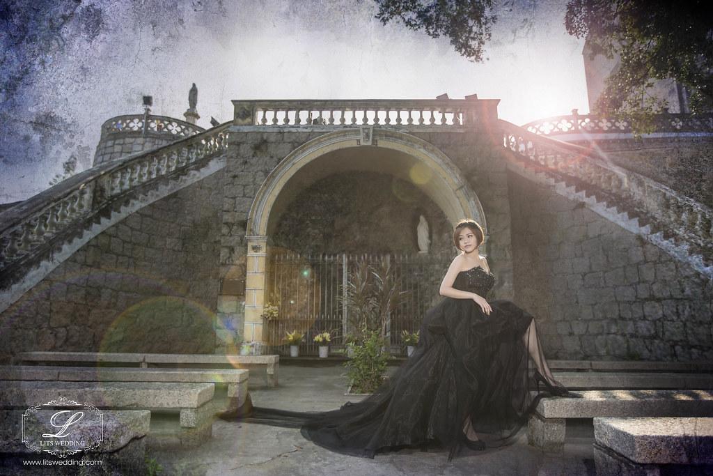 海外婚紗,婚紗,賽西亞手工婚紗,澳門主教山,澳門旅遊塔,個人婚紗寫真,藝術照