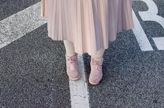 (lidiajuvanteny) Tags: pink classic look leather blog outfit blogger curvy jacket denim reebok plussize justshootme kriziarobustella