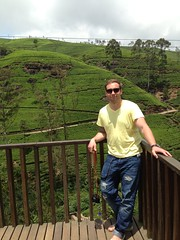 In the highlands of Sri Lanka!