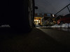 Fisheye Snow at Night (rclatter) Tags: olympus fisheye em1 75mm ratseyeview samyang rokinon