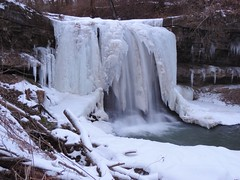 The Ice Age (Trains & Trails) Tags: winter snow cold ice nature creek waterfall stream pennsylvania february fayettecounty connellsville explored robinsonfalls dunbartownship opossumrun