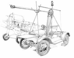 Hucks Starter on Model T Ford