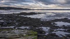 Drum Sands (gavmroberts1984) Tags: sea sky seascape water canon landscape island rocks edinburgh forth firth dalmeny 700d