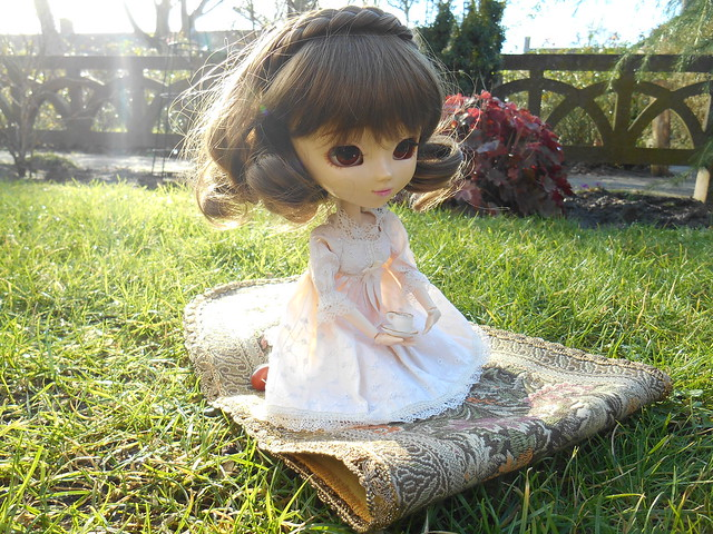 Fuyumi enjoying the sun