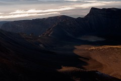 South Crater (blue polaris) Tags: park new summer sunrise landscape island volcano crossing south north zealand alpine national crater nz tongariro