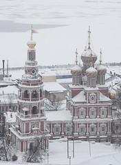 ,       / Church of Nativity of Most Holy Mother of God (svraskin_k) Tags: city winter church architecture cityscape view russia center russian orthodox       nizhniynovgorod   micro43 olympusomdem1 sigma60mmf28