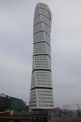 Turning Turso (Teis Auf) Tags: white skye tower sweden sverige malm turning malm turso shyscraper