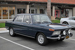 1966 BMW 2000 Neue Klasse (Pat Durkin OC) Tags: blue 2000 neueklasse 1966bmw