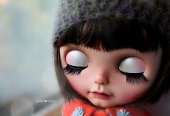 Olivia dreaming away....