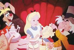 Disney Alice (caijsa's postcards) Tags: disney postcards aliceinwonderland