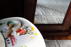 basting 1 (creatingmisericordia) Tags: misericordia basting handquilting katybromberg