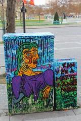 Pimax_1077 place d'Italie Paris 13 (meuh1246) Tags: streetart paris paris13 pablopicasso placeditalie doramaar pimax armoireedf