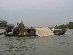 Travelling On the Mekong River in Vietnam