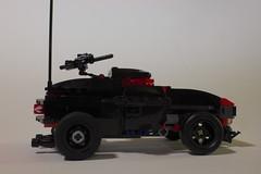 Bullet Spinner- Side (BlueShift 12) Tags: macro toy lego brickarms gibrick