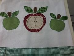 """20150223_142543 (""""ARTEIRICES"""" By R IANGUAS) Tags: frutas de patchwork morango copa panos cozinha cereja maa pera apliqu futas panosdepratos"""