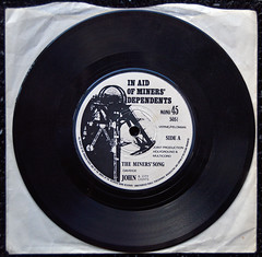 The Miners Song, 1984 strike (Pitheadgear) Tags: records mine vinyl mining mines coal strikes miner miners mineworkers miningindustry coalminers coalmining minersstrike coalindustry 1984strike