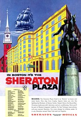 Sheraton Plaza Boston (dok1) Tags: 1955 nationalgeographic vintageads dok1