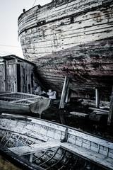 Bassins à flot - Bordeaux (Pixel Carré) Tags: port bordeaux maritime garonne épave nikkor20mm28 bacalan vieuxbateaux bassinsàflot nikond7100