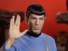 Louisiana Film Prize gives a heartfelt Vulcan Salute to actor Leonard Nemoy, who died today at the age of 83. Live long and prosper!