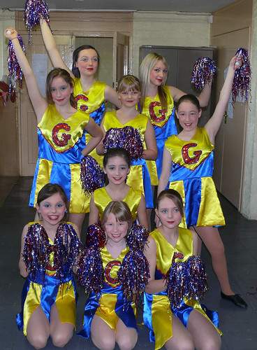 2008 Babes in the wood 20 (back from left x,x, next Amelia Ashton, Sophie Wallace, Lauren Atkinson,next Daisy Ashton,front x, Briony Colton, Georgina Clayton)