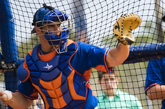 Anthony Recker 1 (Michael G. Baron) Tags: new york training major spring baseball mets league