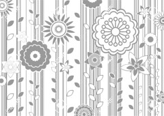 funky flowers (barbseigl) Tags: flowers summer wallpaper white plant abstract black tree art nature floral beautiful beauty fashion silhouette modern illustration design leaf spring branch pattern symbol blossom traditional decoration style funky retro petal part textile frame backgrounds ornate shape botany product ornamental decor effect luxury vector scroll accents element elegance concepts filigree flourishes