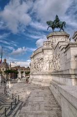 Equestre (ansacariofoto) Tags: rome roma architecture tokina vittoriano atx116prodx tokina1116 nikond5000
