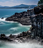 Jusangjeolli Cliff - Jeju Island (Rob-Shanghai) Tags: southkorea jeju jejuisland korea cliffs jusangjeolli seascape sony a6000