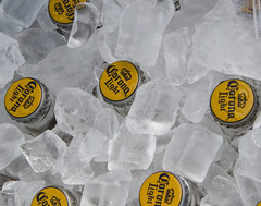 29/52 ~ Cold (LindaB.) Tags: 2952 cold collective52photoproject2016 ice corona beer cooler telegraphcruise