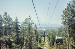 Postcards from Heavenly (Allison Mickel) Tags: nikon d7000 adobe lightroom edited nevada lake tahoe heavenly mountain california gondola