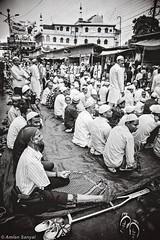 IN GOD'S SHELTER (Amlan Sanyal) Tags: india incredibleindia landofgods streetphotography blackandwhite people canon canonef24105f4l eos5d candid amlan siliguri eid prayer praying powerofprayer