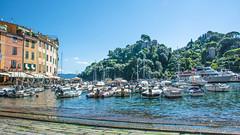 Portofino, Italy (Alan-S2011) Tags: italy architecture boats celebrityeclipse d7100 europe flowers harbour nikon marina quays sea seascape trees water waterfront yachts yacht portofino southeastofgenoacity fishingvillage italianriviera coastline