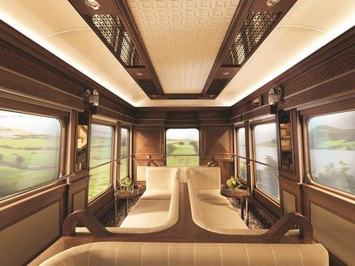 Belmond Grand Hibernian - observation car