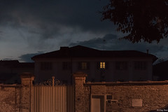 magia notturna (Clay Bass) Tags: 12800 nikon saluzzo buildings d750 light natural night wall window