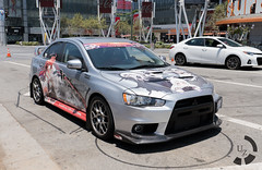 Itasha in the Wild (UnsignedZero) Tags: california art weather out outside outdoors outdoor object sunny artmuseum item losangelescounty outsides microsofttheater itasha kancolle downtowncounty cosplaytype