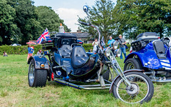 Cool Trike (Rich Walker Photography) Tags: car cars rally ferrari rollsroyce triumph bike bikes motorcycles motorcycle bentley jaguar cornwall uk england event events