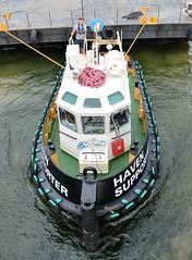 Haven Supporter (3) @ KGV Lock 09-08-16 (AJBC_1) Tags: royaldocks kgvlock london havensupporter dlrblog ajc newham kinggeorgevlock northwoolwich londonsroyaldocks londonboroughofnewham eastlondon docklands england unitedkingdom uk ship boat vessel marineengineering nikond3200 tug tugboat collinswateragelighterage gallionspoint pontoon stantug1205 damen damenshipyardsgroup williamsshipping wilcarry1711