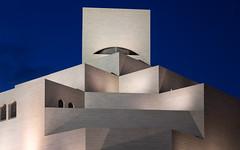 Museum of Islamic Art, Doha, Qatar (maxunterwegs) Tags: bluehour catar doha impei ieohmingpei katar museum museumfrislamischekunst museumofislamicart musedartislamique nacht night noche noite nuit qatar