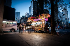 Food Cart on Fifth (duncan_mclean) Tags: eats cart usa 5thavenue nyc newyorkcity america evening food night