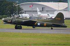 B-17 (Thomas Theisen) Tags: boeing b17 ww2 farnborough airshow fia2016 display aviation planespotting takeoff