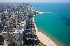 Chicago (romanboed) Tags: leica m 240 summicron 28 usa chicago lake shore drive oak street beach gold coast lincoln park aerial view travel city cityscape architecture summer sunny america downtown lakefront waterfront urban