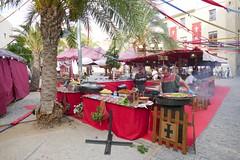 Renaissance Festival- food (Marlis1) Tags: food grill meats renaissancefestival2016tortosa panasonictz71 tortosacataluaespaa marlis1 panasonicfz1000