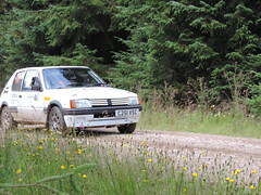 Grampian Stages Rally 2016 (RS Pictures) Tags: src scottish rally championship coltel grampian stages stage 2016 durris ss forest forestry road track special ss6 2 peugeot 205 motorsport auto