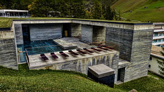 The Therme Vals / Peter Zumthor (Miradortigre) Tags: zumthor architect architekt arquitectura suiza switzerland swiss architecture peterzumthor graubunden schwitz stone architekture architettura grisons grisones valle valley alps alpes alpen modern contemporary pritzker
