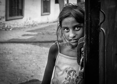 girl at the gate (Gerrykerr) Tags: 2016 nepal ngc