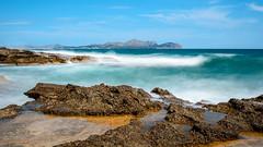 Sea (Tim Roger Photography) Tags: d610 daytime mallorca nikkorafsf3545ged nikon longexposure filter hoya