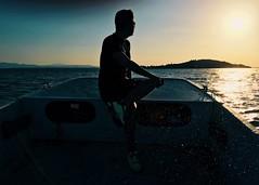 (francescosportellini) Tags: sunset tramonto umbria italia barca lago trasimeno