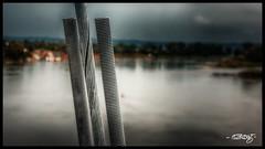Turnbuckle (dougkuony) Tags: bridgetonowhere walkingbridge bobkerrypedestrianbridge omaha missouririver turnbuckle bolts cable hdr